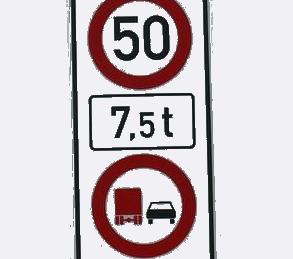Tempo 50 und Überholverbot für LKW auf der B224
