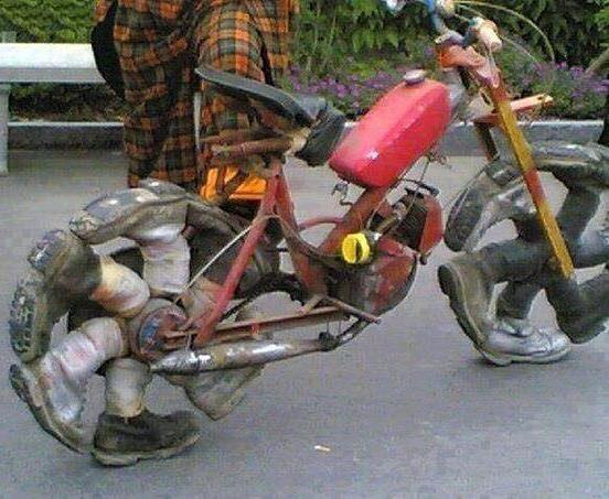Es muss nicht immer ein getuntes e-Bike sein