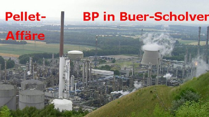 Skandal um die Verbrennung mutmaßlich giftiger Ölpellets inGelsenkirchen-Scholven