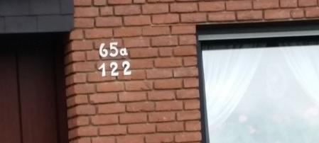 Zwei Hausnummern haben Häuser an der Arenbergstraße