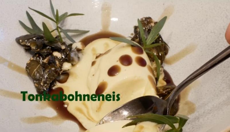 """Wackelpudding war gestern David macht Tonkabohneneis mit Kürbiskernöl Der jetzt in Hannover lebende Gladbecker Koch David Manthey bringt sich uns hin und wieder mit seinen Kochkünsten in Erinnerung. Mit seinen Videos auf YouTube zeigt er was er kann und bringt so geschmackvolles Essen auf Gladbecker Tische. Begonnen hat er mit Pasta Bolognese """"David Manthey jetzt auch Koch-Youtuber"""" https://glazette.net/david-manthey-jetzt-auch-koch-youtuber/, weiter ging es mit """"David Manthey: Pizza aus der Sterneküche"""" https://glazette.net/david-manthey-pizza-aus-der-sternekueche/ und nun bringt er einen Nachtisch auf den Tisch, der es in sich hat: Tonkabohneneis mit Kürbiskernöl. Das YouTube-Video sehen Sie hier! https://www.youtube.com/watch?v=99ZviyD8DbA"""