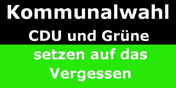 Kommunalwahl in Gladbeck - CDU und Grün setzen auf Vergessen. Gladbeck, B224, A52, Windrad, Mottbruchhalde, CDU, SPD, Grüne, Linke