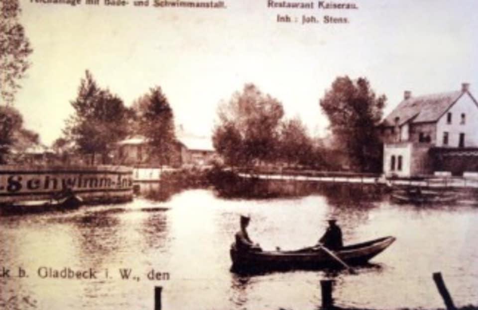Schwimmanstalt und Restaurant Kaiserau am Stenteich