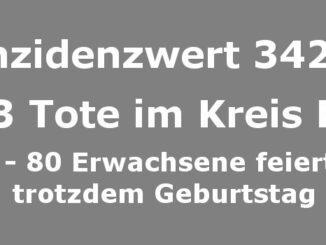 Inzidenzwert 342,5