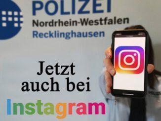 Polizei bei Instagram