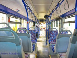 Linienbus machte Vollbremsung